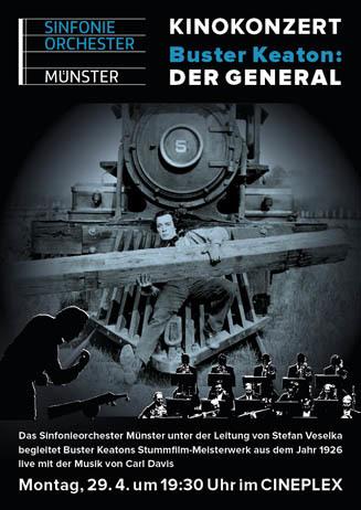 Kinokonzert: DER GENERAL