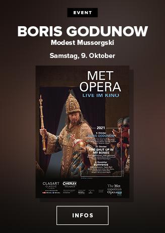 Klassik im Kino: Met Opera - BORIS GODUN (Modest Mussorgski)
