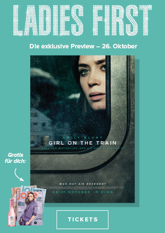 26.10. - Ladies First: Girl on the Train