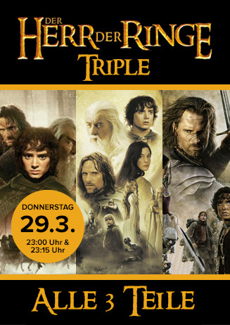 Triple: Herr der Ringe
