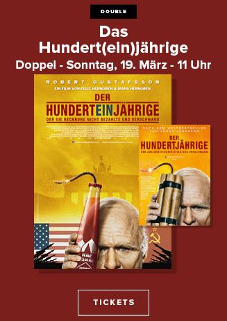 """170319 Das """"Hundert(ein)jährige"""" Doppel"""