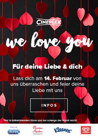 Valentinstagsaktion im Cineplex Goslar