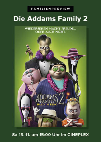Familienpreview: DIE ADDAMS FAMILY 2