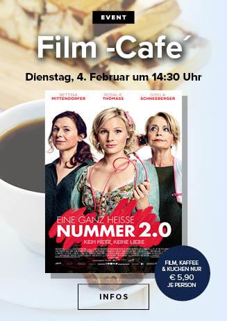 Filmcafé: Eine ganz heiße Nummer 2.0