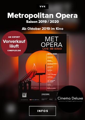 """VVK-Start: """"MET Opera Saison 2019/2020"""""""