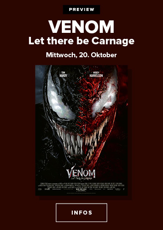 Premiere: Venom 2 - Let there be Carnage