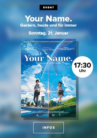 Anime Nights: Your Name. - Gestern, Heute und Für Immer