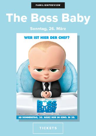 Familien Vorpremiere: THE BOSS BABY