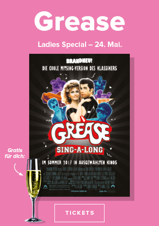 24.05. Ladies Special: Grease Sing A Long