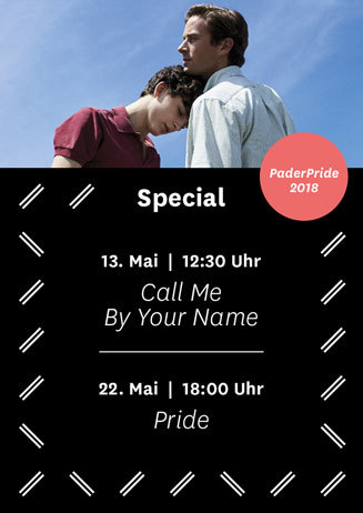 Sondervorstellung: Call me by your name & Pride