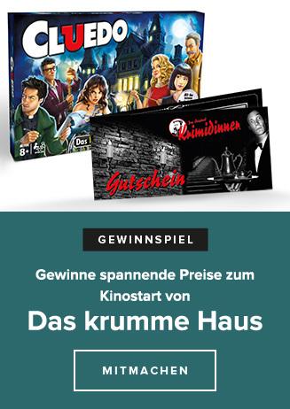 """Gewinnspiel """"Das krumme Haus"""""""