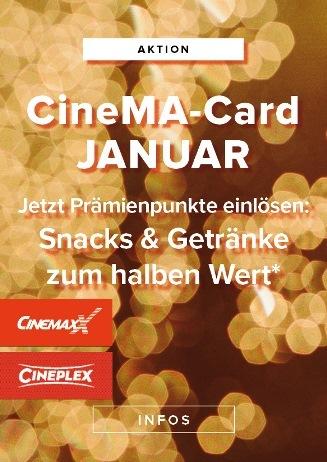 Monatsaktion CineMa-Card Januar