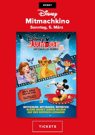 """Special: """"Disney Junior Mitmach-Kino"""""""