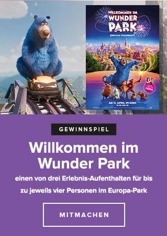 Willkommen im Wunderpark Gewinnspiel