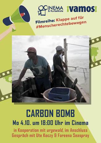 Mit VAMOS  e.V.: CARBON BOMB