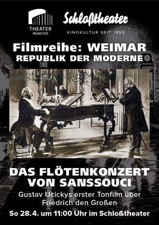 Weimar-Reihe: DAS FLÖTENKONZERT VON SANSSOUCI