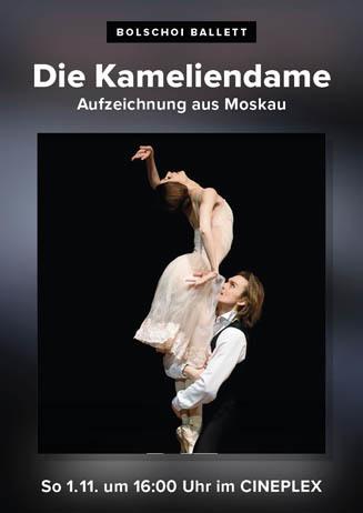 Bolschoi Ballett: DIE KAMELIENDAME