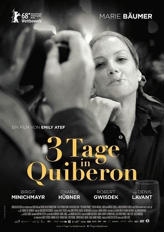 Kino für Kenner: 3 TAGE IN QUIBERON