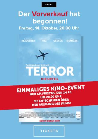 """""""Terror - Ihr Urteil"""", 14.10. um 20:00 Uhr"""