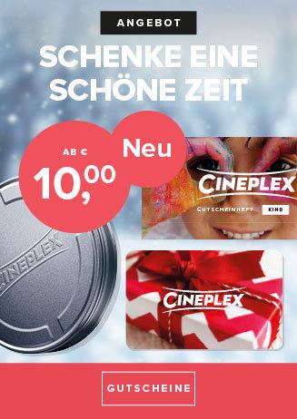 Cineplex Kinogutscheine