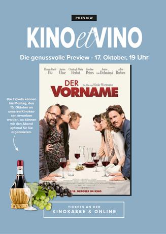 17.10. - Kino et Vino: Der Vorname