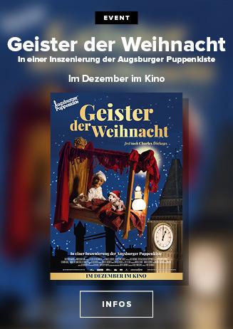 Geister der Weihnacht - Inszenierung der Augsburger Puppenkiste