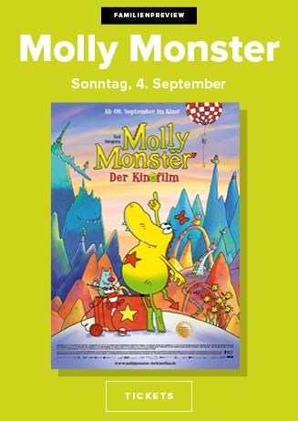Familienpreview: Molly Monster - Der Kinofilm