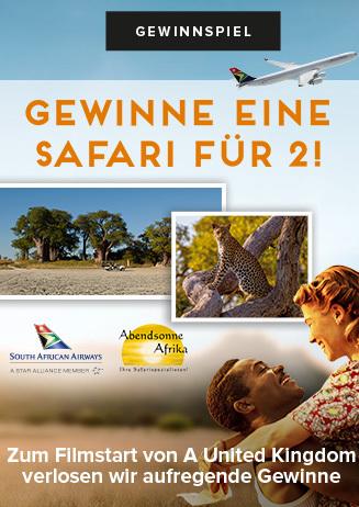 Gewinnspiel Safari