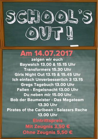 School´s Out 2017