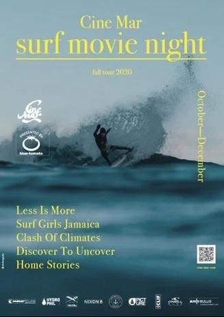 Outdoor Special: Cine Mar - Surf Movie Night Presented by Blue To