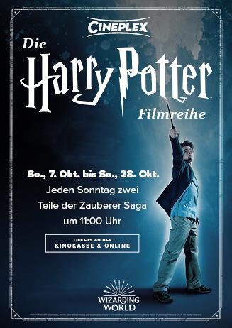 Die Harry Potter Filmreihe