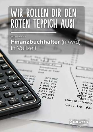 Wir suchen: Finanzbuchhalter in Vollzeit (m/w/d)