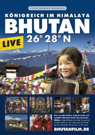 Bhutan 26° 28° N