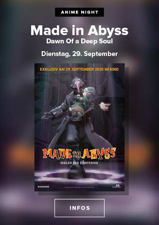 Anime Night 2020: Made in Abyss - Seelen der Finsternis  - 29.09.