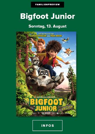 "Familienpreview ""Bigfoot Junior 3D"""
