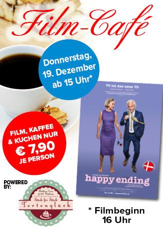 """191219 Film-Café """"Happy Ending - 70 ist das neue 70"""""""
