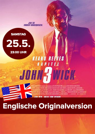 "Englische OV: ""John Wick: Kapitel 3"""