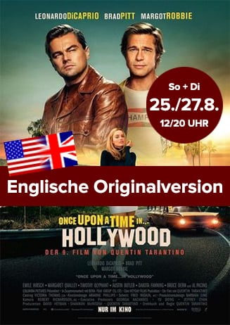 """Englische OV: """"Once Upon A Time In... Hollywood"""""""