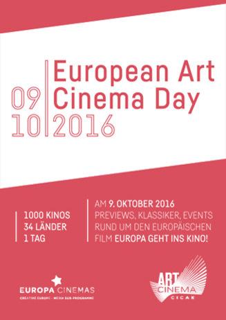 European Art Cinema Day
