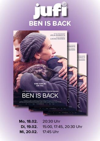 JUFI - Ben is back