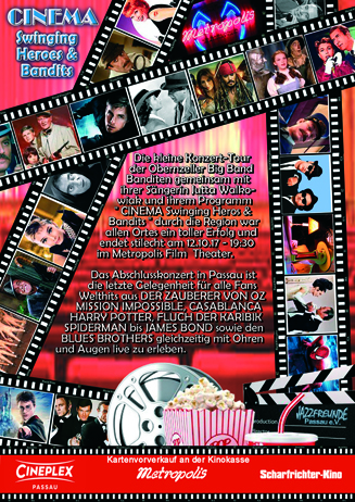 CINEMA Swinging Heros & Bandits
