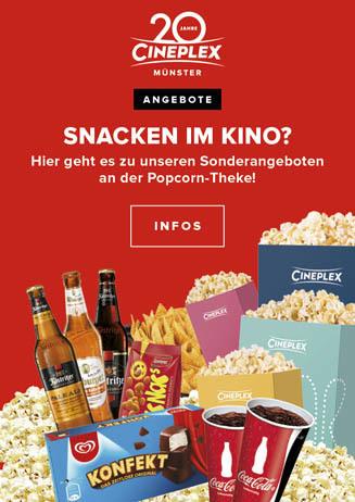 Snacken im Kino