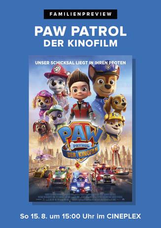 Familienpreview: PAW PATROL: DER KINOFILM