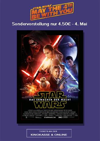 Star Wars Tag am 4. Mai