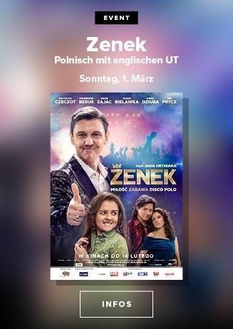 polnischer film: Zenek 01.03. 20.00