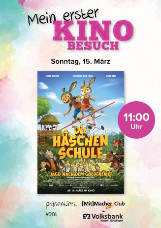 """Mein erster Kinobesuch: """"Die Häschenschule"""""""