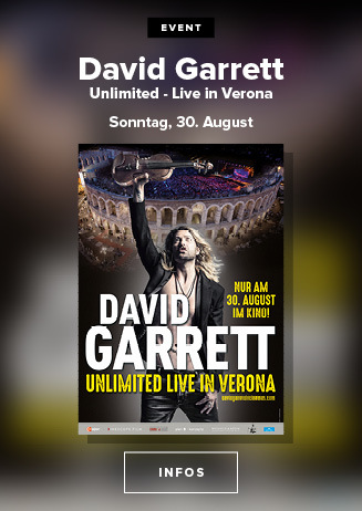 David Garrett Unlimited Live in Verona