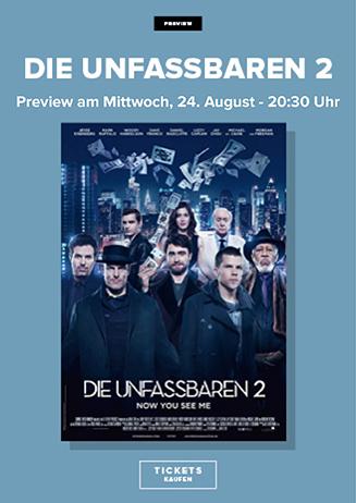 """160824 Preview """"Die Unfassbaren"""""""