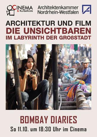 Architektur und Film: BOMBAY DIARIES