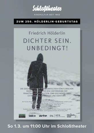 Friedrich Hölderlin: Dichter sein. Unbedingt.